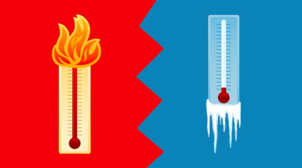 Image result for hot vs cold